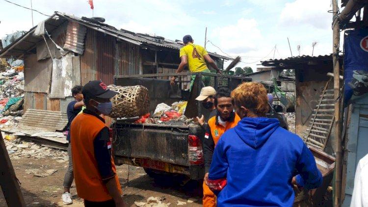 Pengangkutan sampah liar di Kota Bekasi/Ist